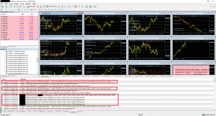 Strategy Samurai integrating with the FX Blue Personal Trade Copier